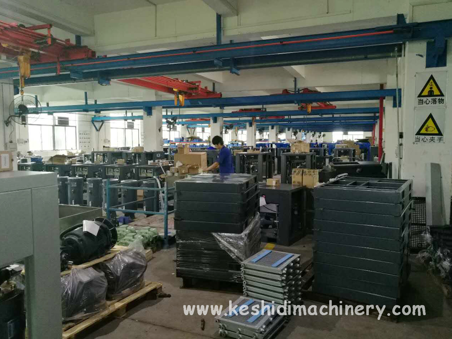 screw air compressor factory